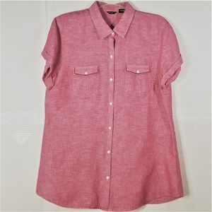Eddie Bauer Button-up Blouse